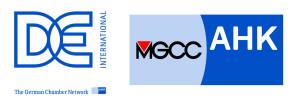 DE & MGCC logo