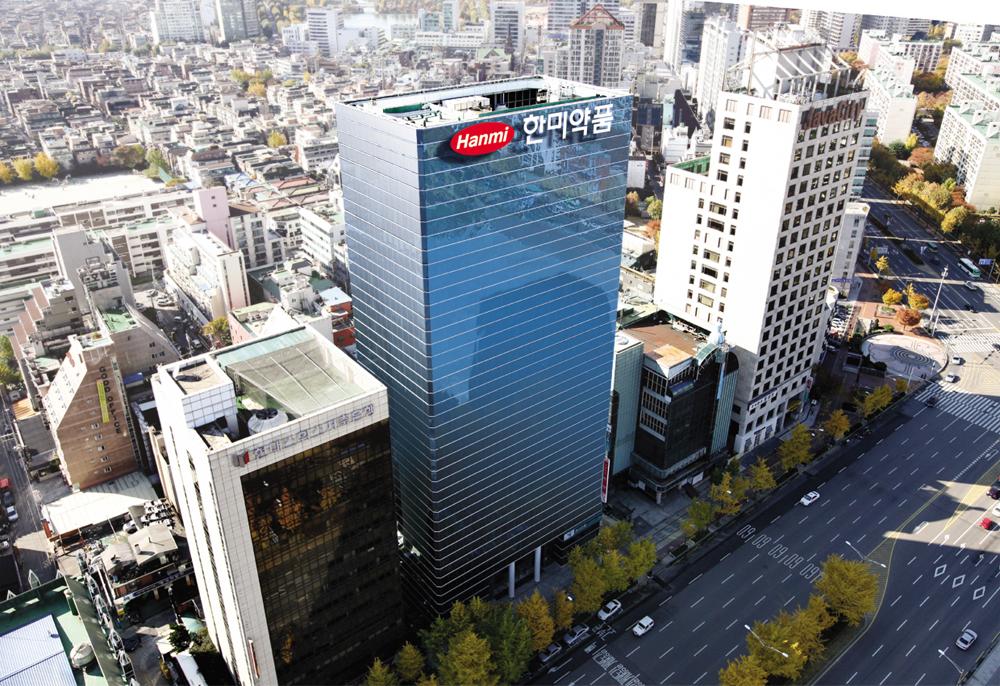 hanmi pharmaceutical headquarters building